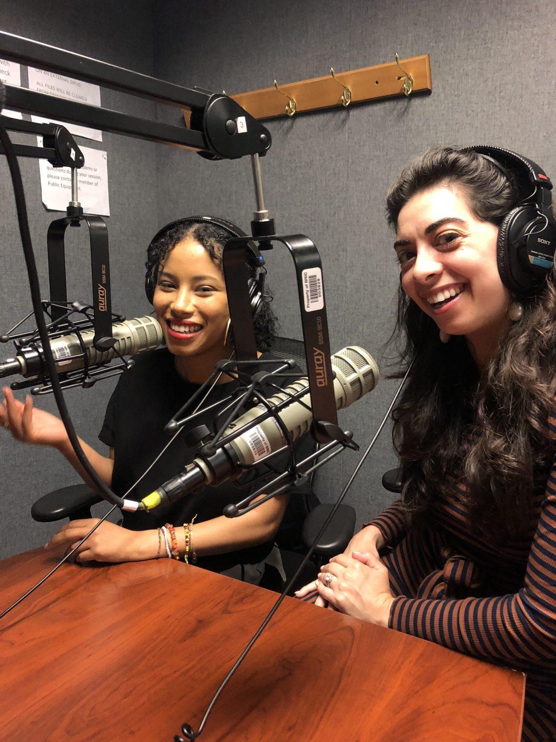 Kelly Mena and Adina a.k.a Flatbush Girl on UnCorrect New York podcast.