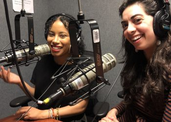 Kelly Mena and Adina a.k.a Flatbush Girl on UnCorrect New York podcast.