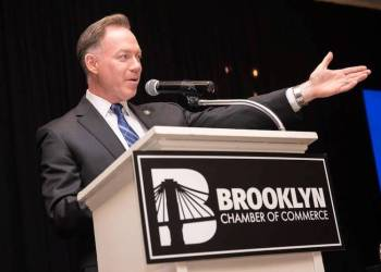 Brooklyn Chamber of Commerce President and CEO Randy Peers.