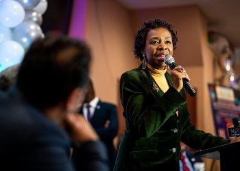 Congresswoman Yvette Clarke (photo by Tsubasa Berg)