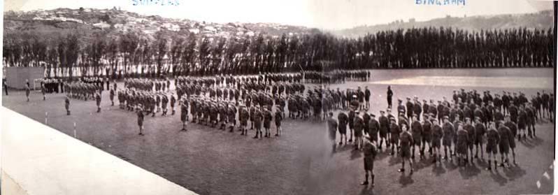 Cadet-parade