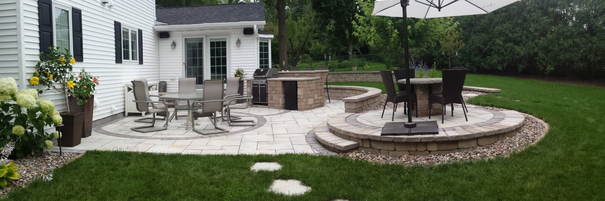 Backyard Transformation after