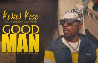 """Kwaw Kesse dishes out a official music video of his most anticipated project 'Good Man"""". This track featured Stonebwoy and Black Prophet."""