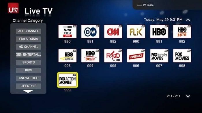 Cara Mendapatkan Akun UseeTV All Channel
