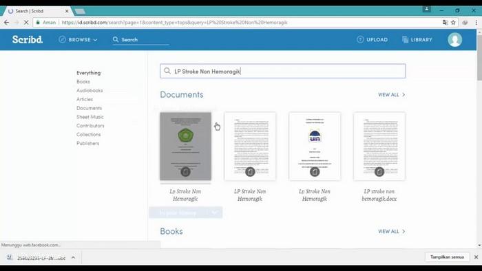 Cara Mendownload File dari Akun Scribd Premium Gratis