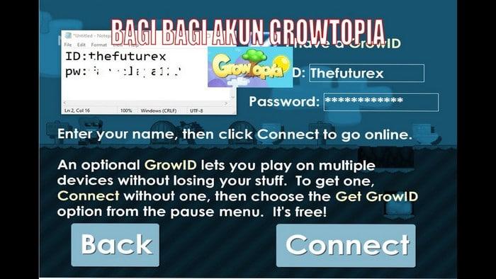 Daftar Akun Gratis Growtopia Terbaru No Banned