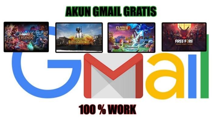 Daftar akun gmail gratis