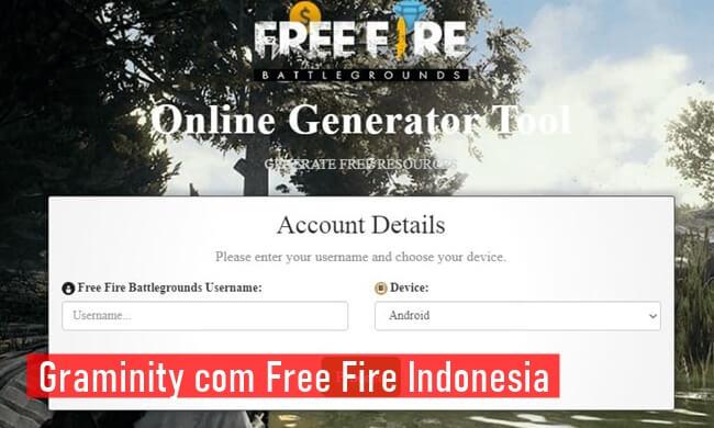 Graminity com Free Fire Indonesia