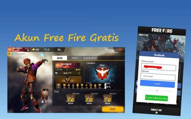 Akun free fire sultan gratis 2020