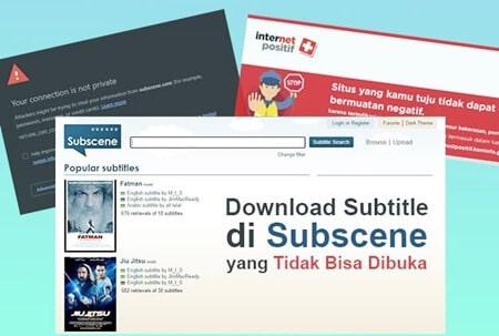 Situs Subscene Diblokir Kominfo