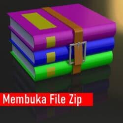 Cara Membuka File Zip