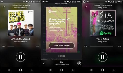 Cara Mendapatkan Spotify Premium Gratis Selamanya