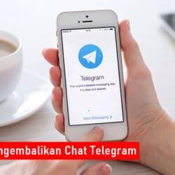 Cara Mengembalikan Chat Telegram Yang Terhapus
