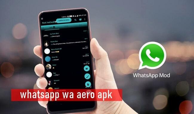 whatsapp wa aero apk mod