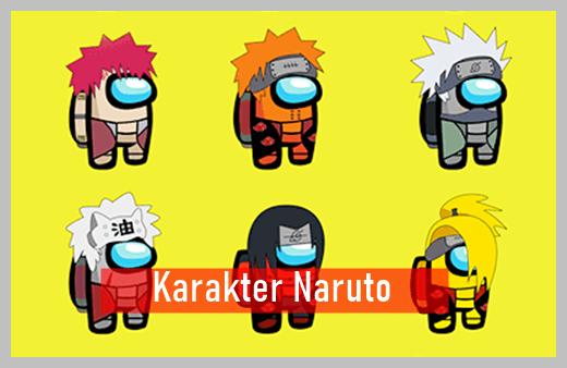 Fitur Among Us Naruto Apk Mod