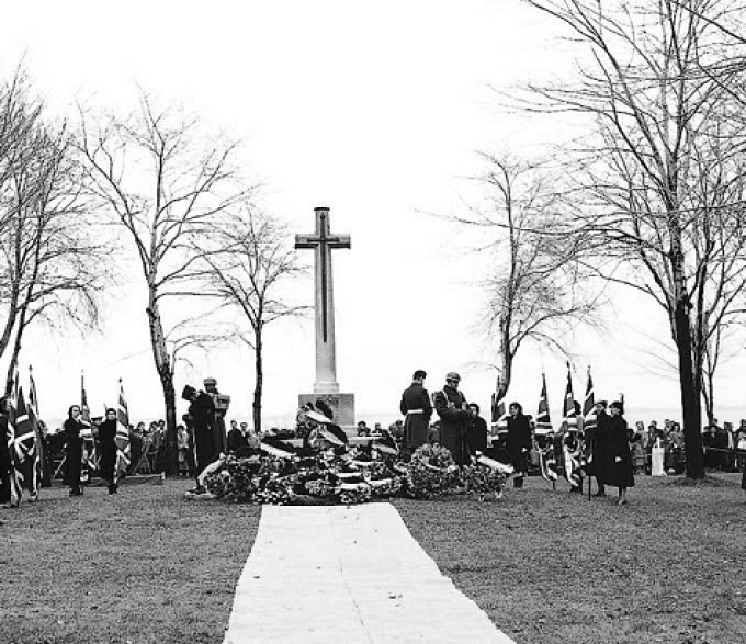 , Remembrance Day, Cross of Sacrifice, Kingston, Ontario