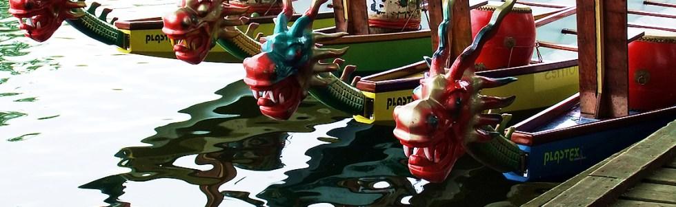 Dragon Boat Challenge River Thames Kingston July