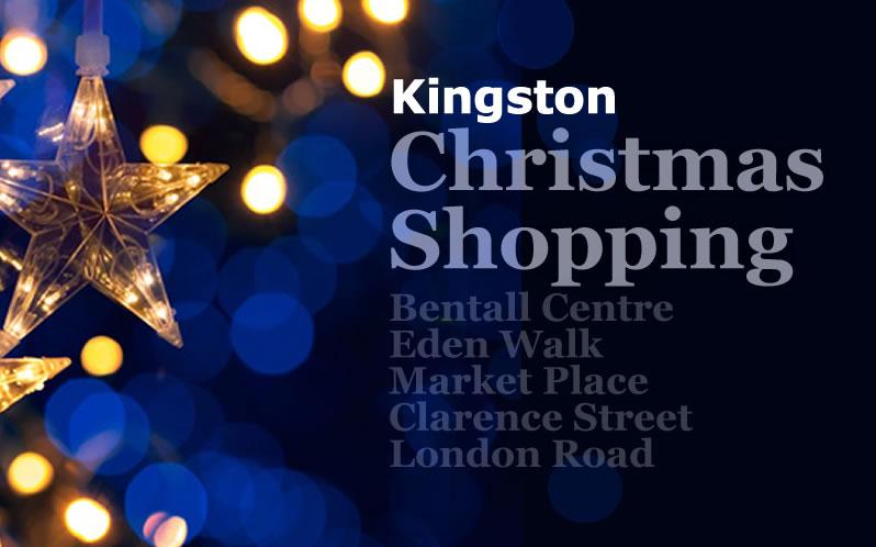 Christmas shopping in Kingston upon Thames