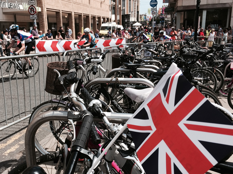 Prudential RideLondon in Kingston upon Thames