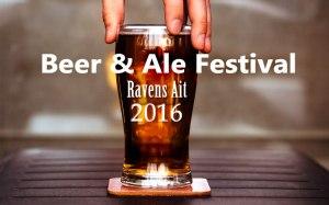 Beer festival at Ravens Ait August 2016