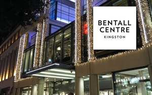 Christmas shopping at Bentalls