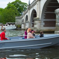 GoBoat Electric picnic boats in Kingston upon Thames