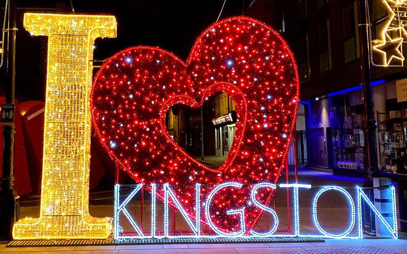 new to Kingston