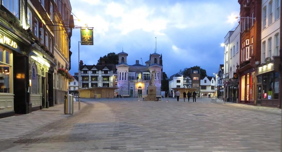 Kingston town centre