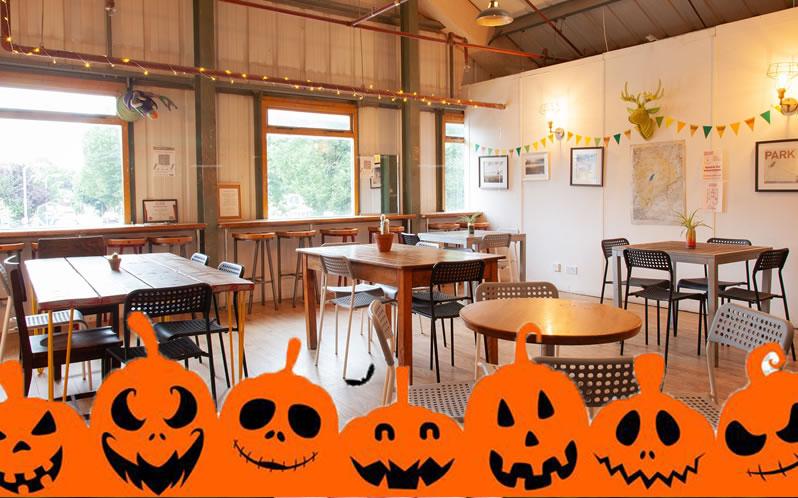 Tap Room Halloween