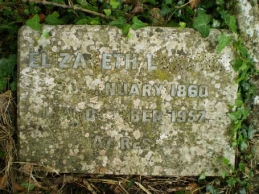 elizabeth loxston grave