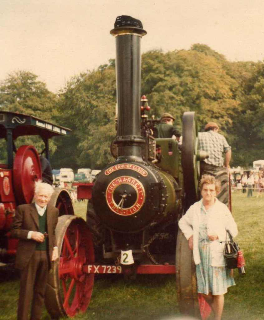william alfred sansom and earl of eldon traction engine cropped 0204