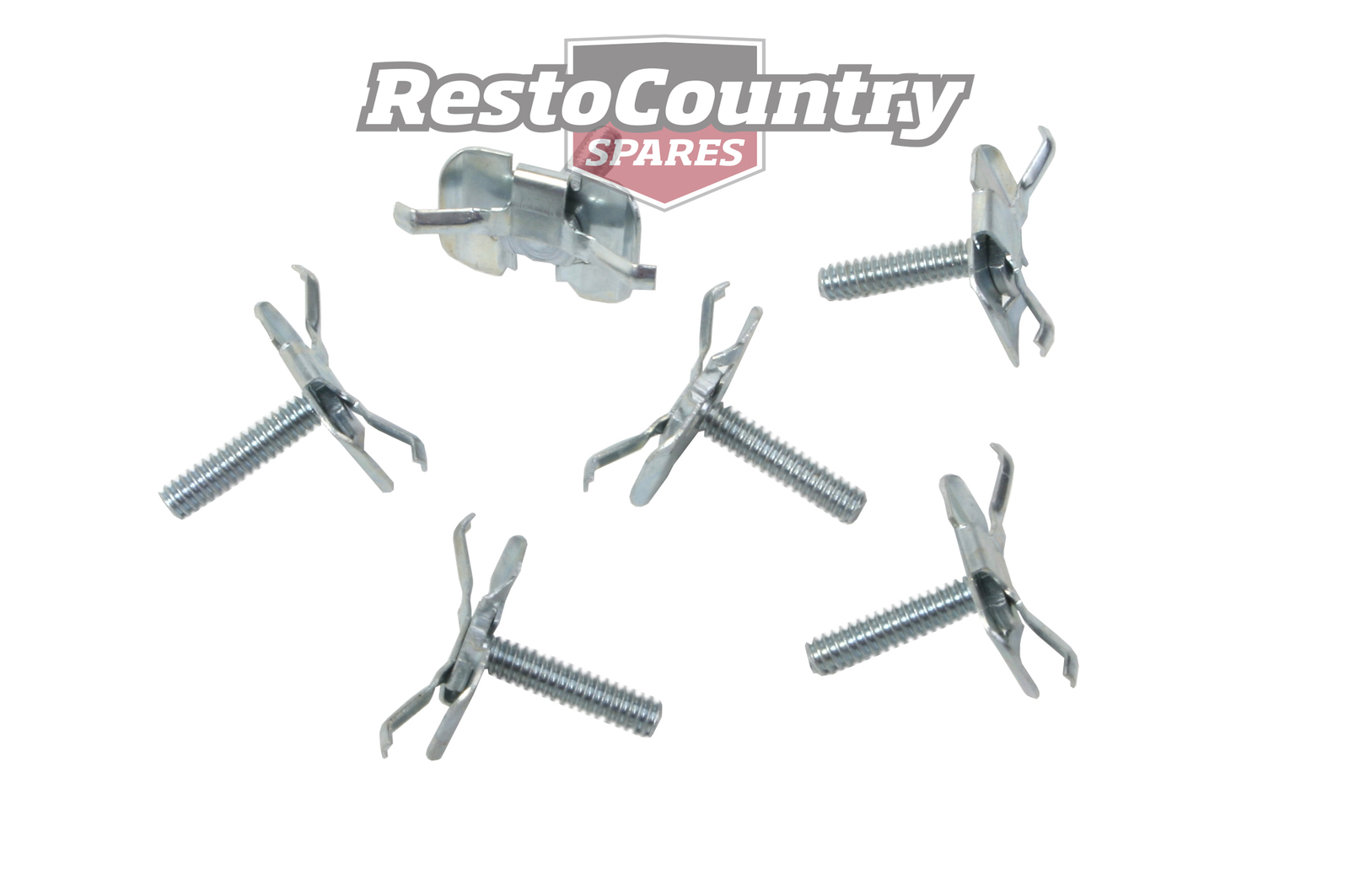 Clip Set Universal Plate And Stud Type Head Bolt On