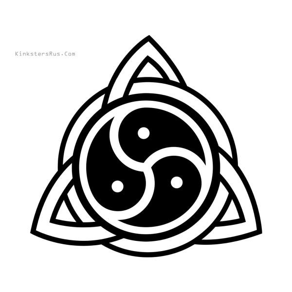 Celtic Knot Triskellion Decal