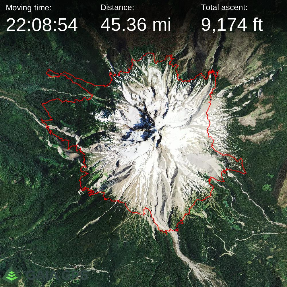 Timberline Trail #600 - Mount Hood Oregon (1)