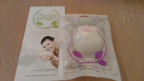 I won! The Konjac Sponge