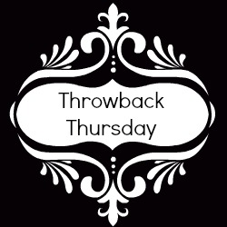 Throwback Thursday #6 #tbt