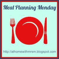 Meal plan Monday – 28/4/14 #2