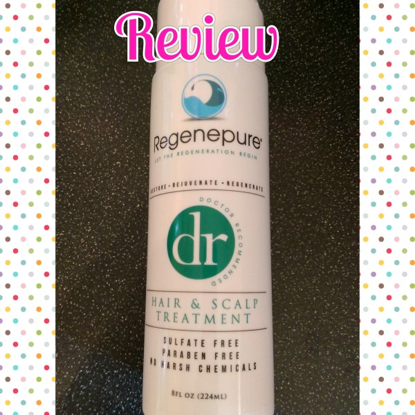 [Review] Regenpure Hair & Scalp Treatment Shampoo