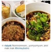 It's TGIF! Time to celebrate the hard work you've put in during the week celebrate the coming weekend with your colleagues... Tag them to join you for an exotic authentic Bangkok Street Food... Thank you @riaiyak for the kind review and for sharing Kinley Thai Bistro with family and friends