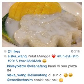 We are so honored to receive so many great reviews on our Mango Sticky Rice and absolutely grateful for the support of our customers sharing them. Thank you so much, keep the photos coming and don't forget to tag us so we can see them. Kop khun kap @siska_wang