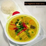 Thai Vegetarian green-curry