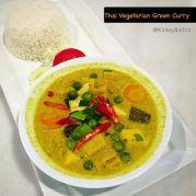 Thai Vegetarian green-curry