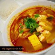 Thai Vegetarian tom-yum