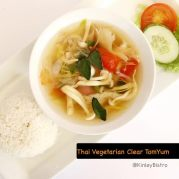 Thai Vegetarian tomyum-clear