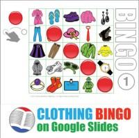 Clothing Bingo - Digital