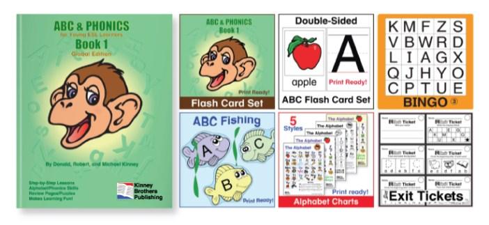 ABC and Phonics Kinney Brothers Publishing