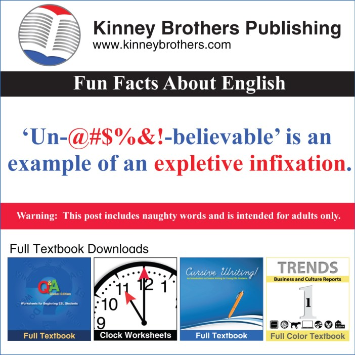 Fun Facts About English 69