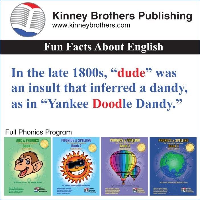 Fun Facts About English 80 dude