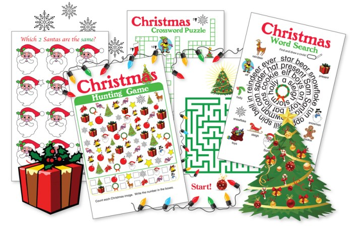 Kinney Brothers Publishing Christmas games