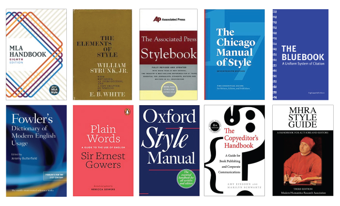 English language style guides Kinney Brothers Publishing